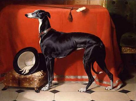 Eos, A Favorite Greyhound of Prince Albert
