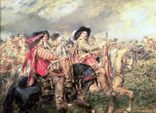 After the Battle of Naseby in 1645