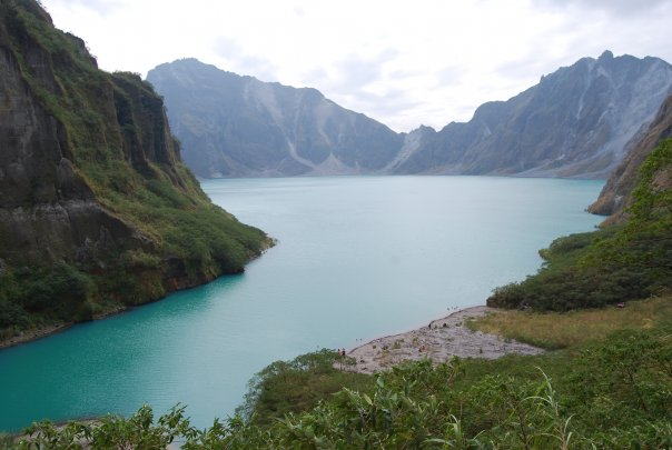 Lake Pinatubo in January, 2009
