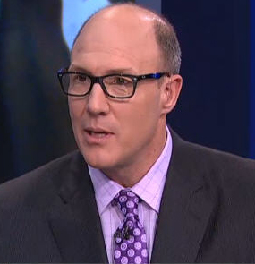 Scott Pioli, purple tie