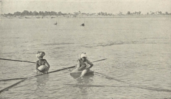 Fishermen on the Indus