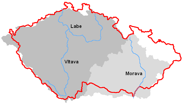 List Of Rivers Of The Czech Republic For Kids Kiddle - Czech river