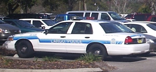 Largo, florida-police car 01