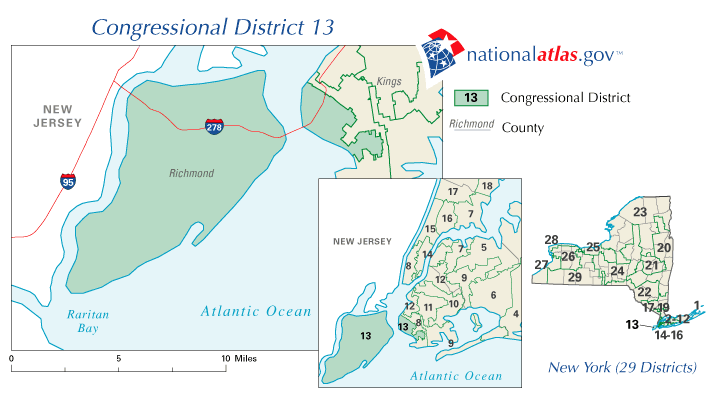 New York District 13 109th US Congress