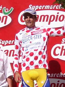 Richard Virenque - Tour de France 2003 - Alpe d'Huez (cropped)