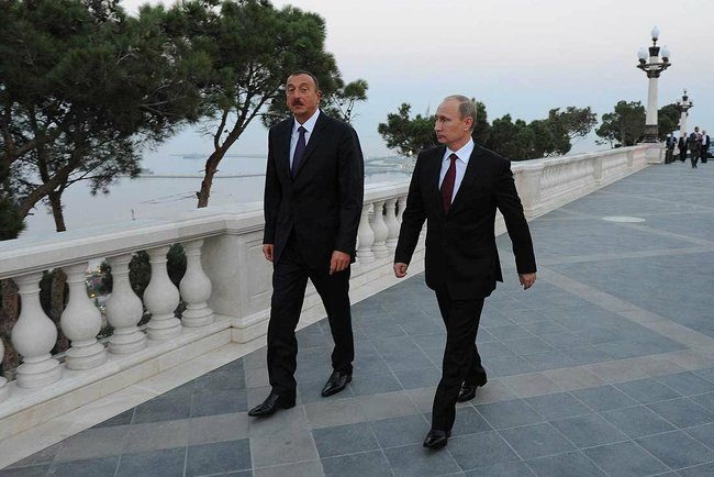 Vladimir Putin in Azerbaijan 13 August 2013-6
