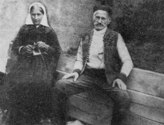 Gavrilo Princip's parents