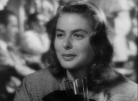 Ingrid Bergman in Notorious Trailer(3)