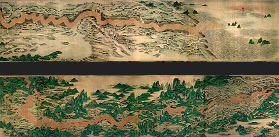 Yellow River, Qing Dynasty