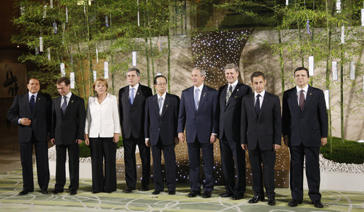 34th G8 summit member 20080707