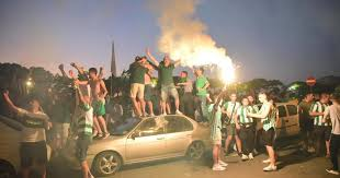 Floriana FC celebrations 2020
