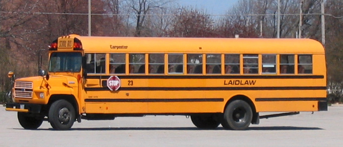 Laidlaw school bus