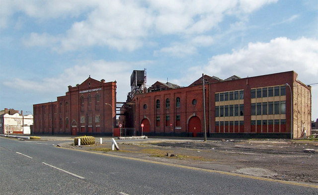 The Grimsby Ice Company Building - geograph.org.uk - 390198