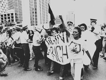 The 1982 Commonwealth Game Protest