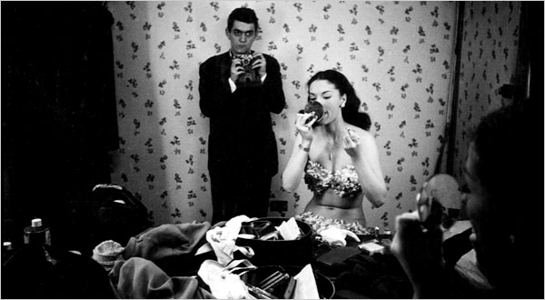 Stanley Kubrick 1949 with Rosemary Williams a showgirl