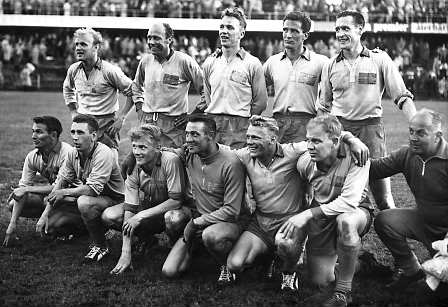 Swedish squad at the 1958 FIFA World Cup