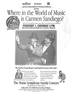 Where in the World of Music Is Carmen Sandiego? poster