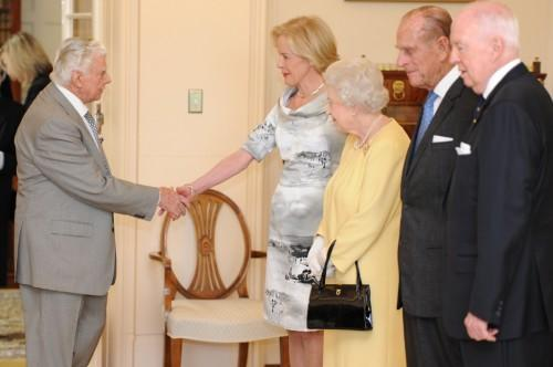 Bart Cummings, Quentin Bryce, Queen Elizabeth II and Prince Philip 22