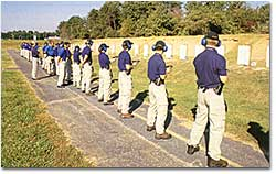 Potential Agents on the FBI Fireing Range
