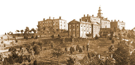 The Hill at UT Knoxville in the 1800s