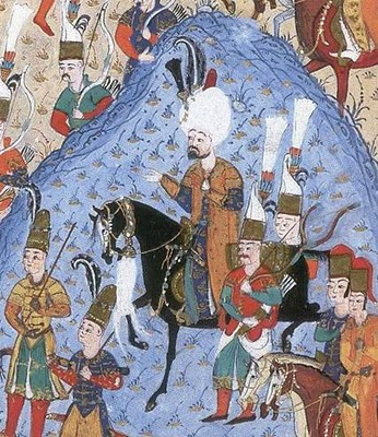 1522-Sultan Suleiman during the Siege of Rhodes-Suleymanname-DetailBottomRight