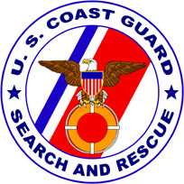 Search and Rescue Program Logo of the United States Coast Guard