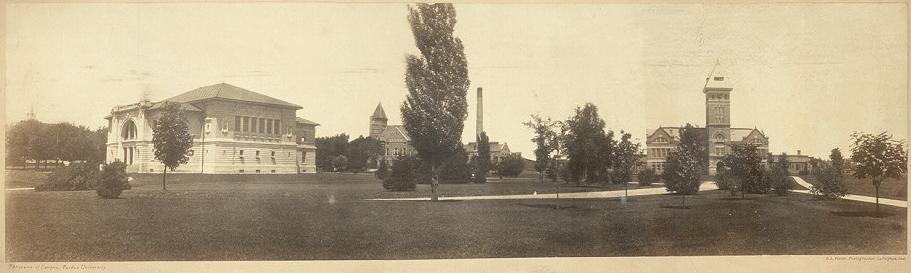 1904 Panorama of campus, Purdue Univ