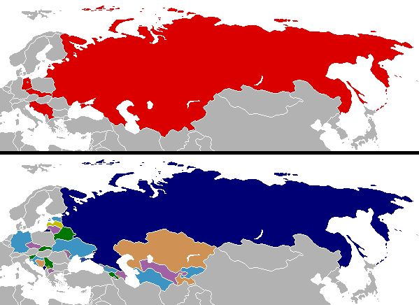 Cold War border changes
