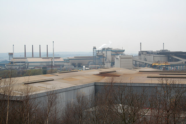 Corus Steelworks, Rotherham - geograph.org.uk - 787011