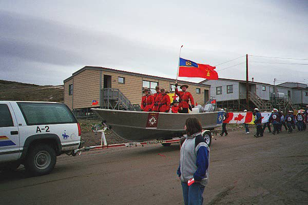 Mounties Iqaluit Canada Day 19990701