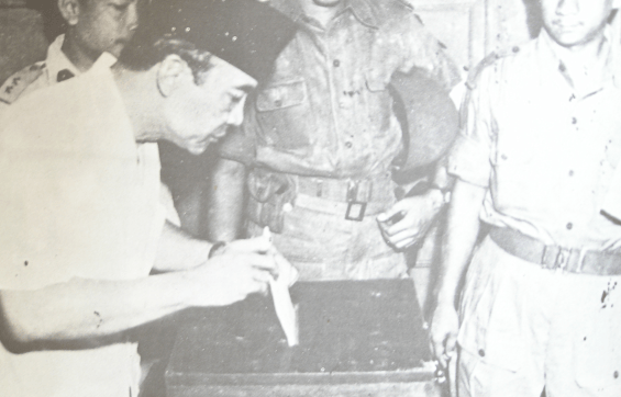 1955 Indonesian Election Sukarno