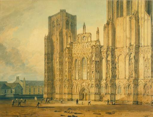 West Front of Wells Cathedral c.1795