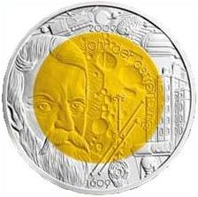 2009 Austria 25 Euro Year of Astronomy Front