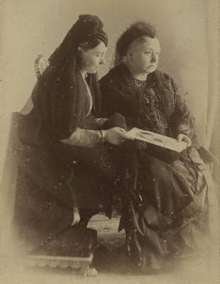 Queen Victoria and Princess Royal 1888