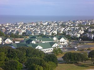 Corolla, North Carolina view from the lighthouse
