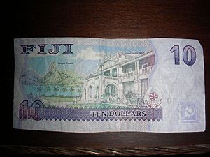 Fiji 10 dollar note, reverse side (8031928059)