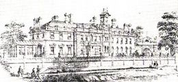 Gordon House etching