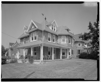 Keasbey and Mattison Company, Supervisor's House, Ambler, Montgomery County, PA HABS PA,46-AMB,10Q-1