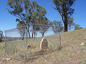 1840 - Military Station Archaeological Site and Burial at Glenroy - Grave of Eliza Rodd (5052015b2)