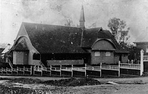 Christ Church at Milton about 1912