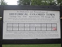 Historical Colored Town, Carthage, TX IMG 2944