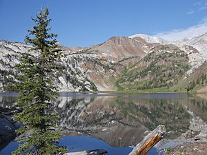 Ice Lake, Sacajawea Peak