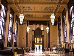 Inside Union Station (Omaha)