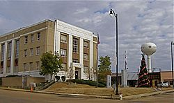 Leake County Courthouse in Carthage, Mississippi