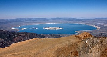 Mono Lake from Mount Dana (1)