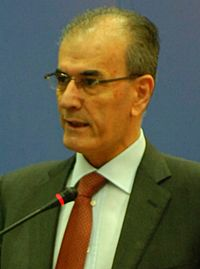 Najmaldin Karim conference speech (cropped).jpg