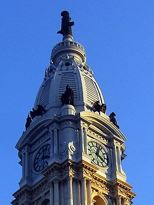The Philadelphia City Hall