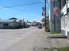 Wrangell downtown