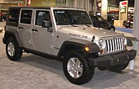 2008 Jeep Wrangler Unlimited Rubicon DC