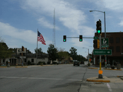 Georgetown Illinois downtown intersection